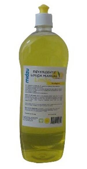 Detergente Louça manual Midzu – Limão 1 L