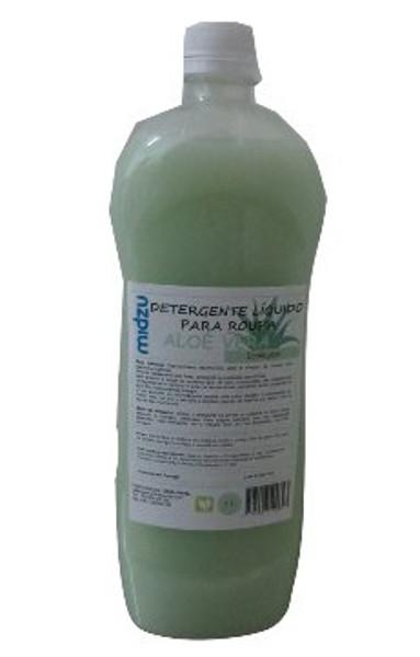 Detergente Líquido para Roupa Midzu - Aloé Vera 1L