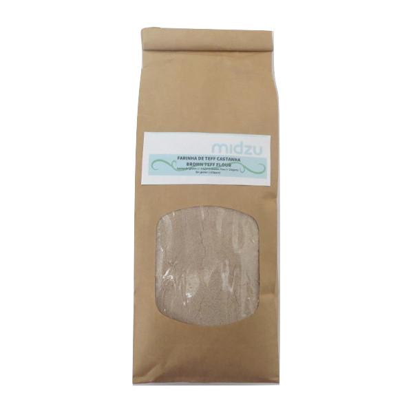 Farinha de Teff castanha Midzu 500g