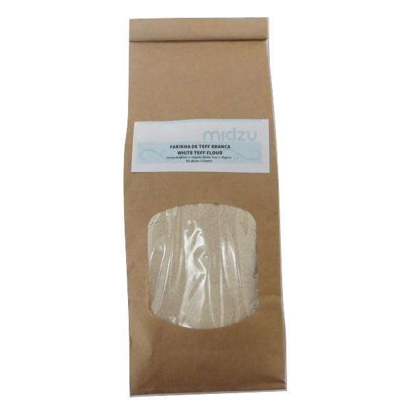 Farinha de Teff branca Midzu 500g