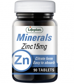 Citrato de Zinco 15 mg Lifeplan