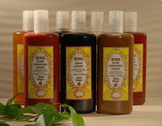 Champô colorante Henna para cabelos pretos 250 ml - Radhe Shyam